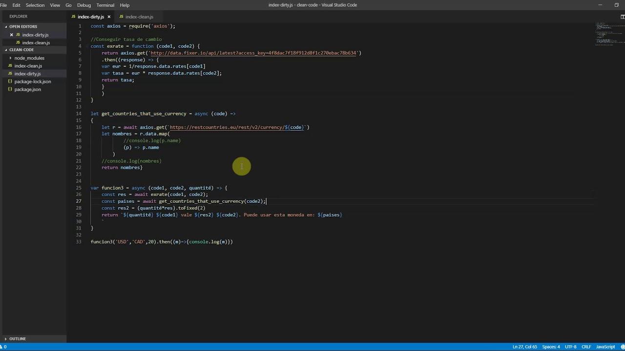 Codigo Limpio - Ingeniería de Software 1