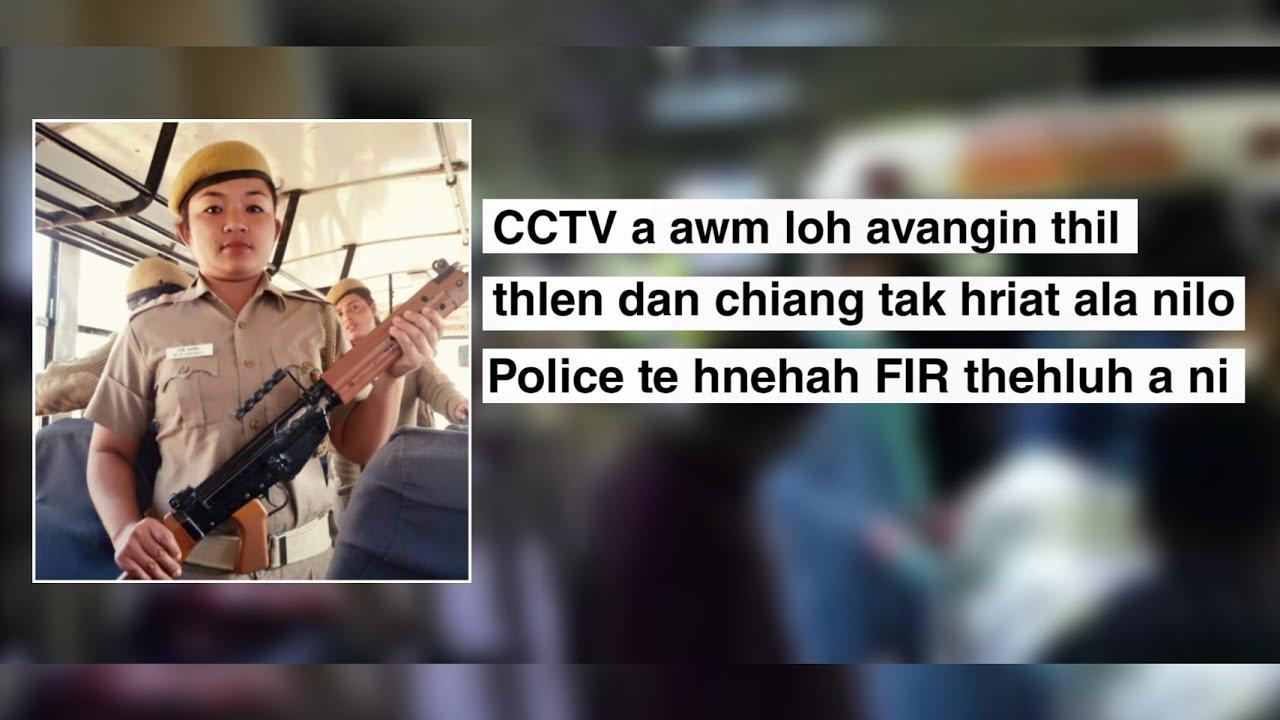 Delhi Police Veronica-i accident in a boral.. || A thih chhan chiang tak hriat ala ni lo..