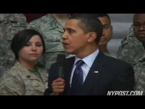 Obama Visits Troops in Iraq - New York Post