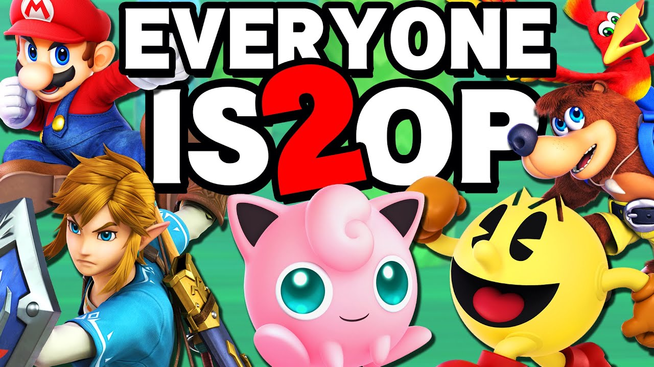 EVERYONE IN SMASH IS 2 OP! Ultimate Montage thumbnail