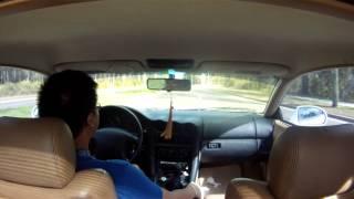 mitsubishi 3000gt cruising in car gopro
