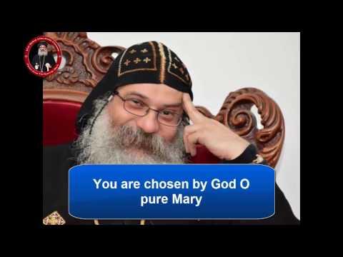 Hymn Hail to You O Mary (English)- Anba Abakir مديح  السلام لكي يا عدرا انجليزي - الأنبا أباكير