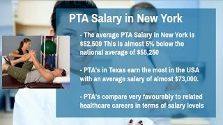 Physical Therapy Assistant Schools New York | PTA Salary New York