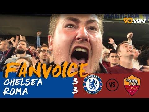 Dzeko scores screamer against Chelsea in 3-3 thriller! | Chelsea 3-3 Roma | 90min FanVoice