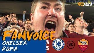 Dzeko scores screamer against Chelsea in 3-3 thriller! | Chelsea 3-3 Roma | 90min FanVoice