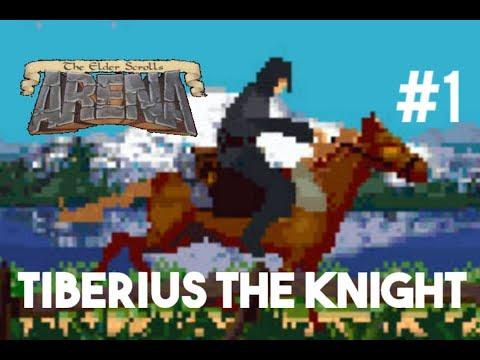 The Elder Scrolls I: Arena - Knight Playthrough - Part 1 (First Dungeon)