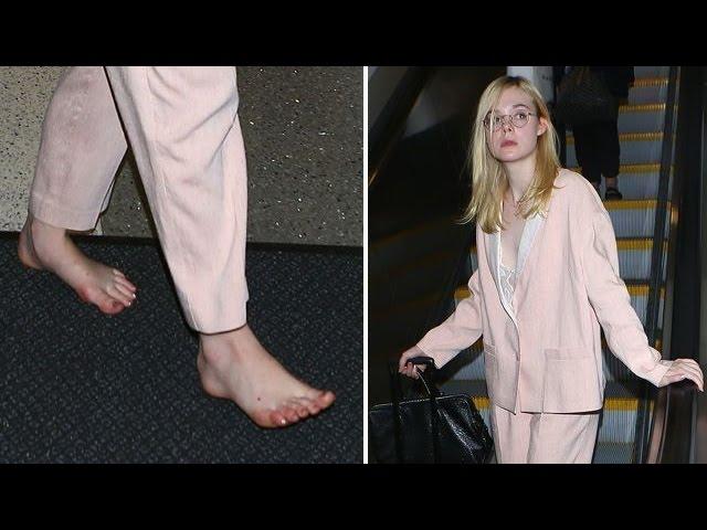 Feet elle fanning Elle Fanning
