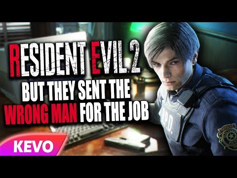 Resident Evil 2 but they sent the wrong man for the job