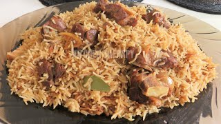 Pakistani Lamb Mutton Yakhni Pulao Pilau Recipe Rice | مٹن یخنی پلاؤ