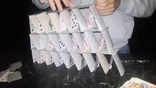Как построить Домик из карт ! Видео урок )