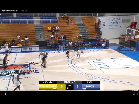 11/23/19 - UVI Bucs vs Rust College (Women)