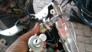 AC to DC ( How to install LED headlight )