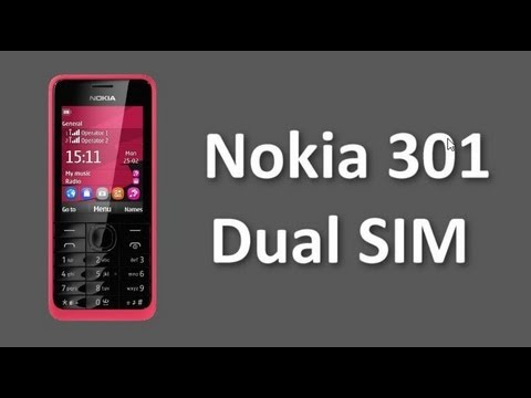 Nokia 301 Dual SIM Mobile Price and Specifications