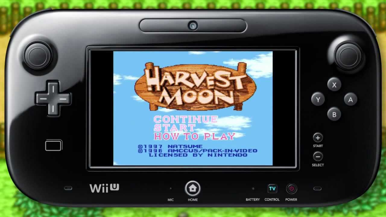 Harvest Moon Wii U VC trailer