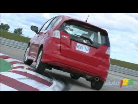 2009 Honda Fit Review By Auto123.com   YouTube