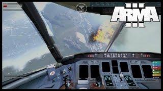 Arma 3 Altis Life Теракт на самолете [Sin City Life] #1