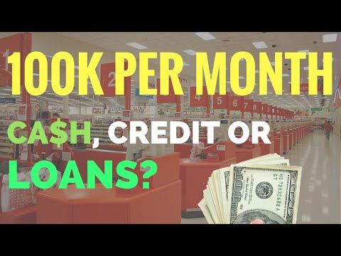 $109,000 Per Month Selling on Amazon FBA | Cash, Credit Cards or Loans?