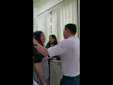 Unreasonable PRC Women Abuse Customer Service Staff