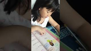 My 6-year old Thai-Chinese tutee learning to read English