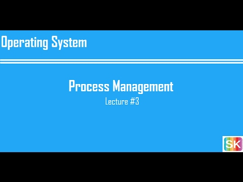 Lecture 3: Process Management (Complete Chapter)