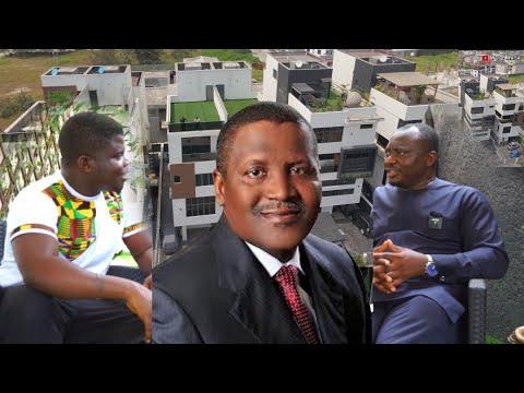 The Nigerian Billionaire Building Luxury Mansions For Billionaires In Nigeria!