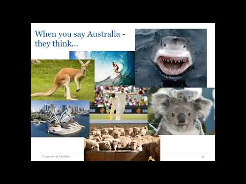 Australia's country image internationally and trade recommendations to buy Australian wine