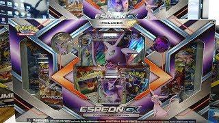 Opening 3x Pokemon Espeon GX Collection Boxes