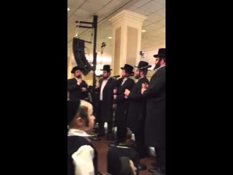 Sympinny Band with levy falkowitz with the Shira Choir