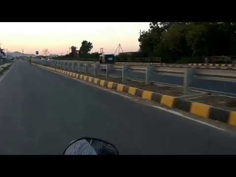 Bike Riding on Bhuj Highway