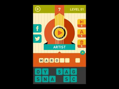 Icon Pop Song Level 1 Answers Guide 0-11