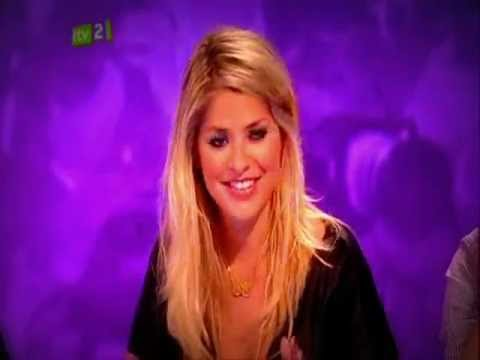 Celebrity Juice   I'll Come Over You   Holly Willoughby   ITV