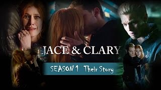 "Jace & Clary ""Their story"" Season 1"