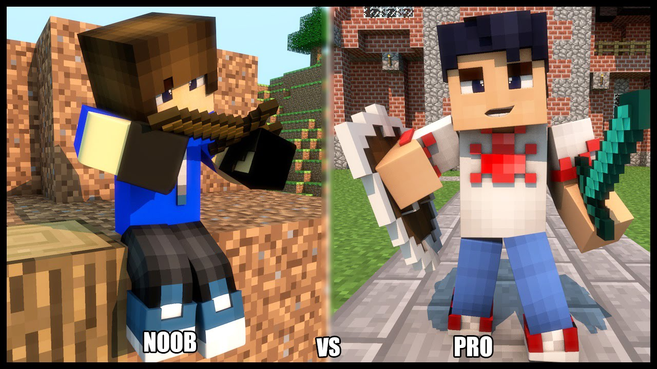 noob vs pro minecraft nb vs pro 02