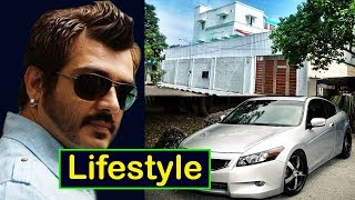 Ajith Kumar Lifestyle | Net Worth | Salary | House | Car | Wife | Family | Hobbies | Biography 2017