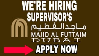Supervisor job in Dubai|purched|marketing|White collar job in Dubai|office job in Dubai|security job