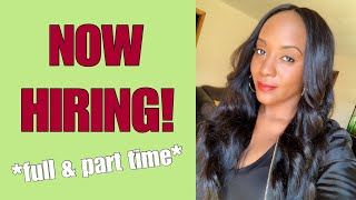 5 Work From Home Jobs Available Now! $10-$16 Hourly..
