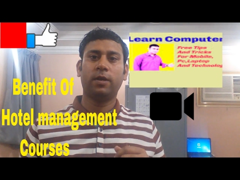 Career In Hotel Management Courses