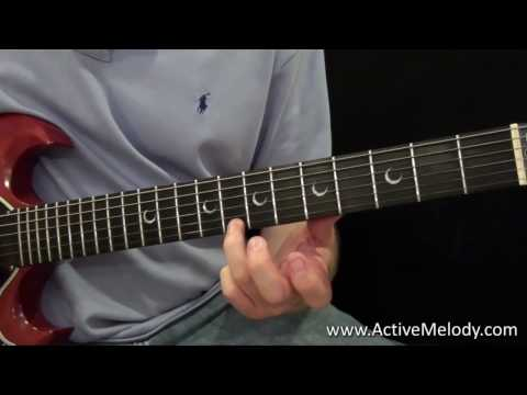 Easy 2 Note Guitar Solo in the Key of A