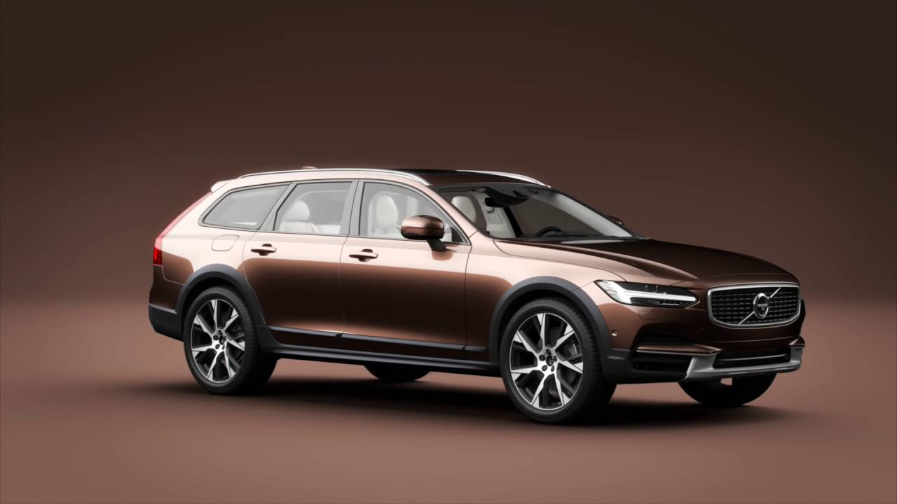 Volvo V90 Cross Country - YouTube