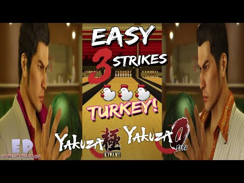 Yakuza 0 – How to Easily Achieve a 'Turkey' in Bowling