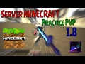 Server Practice PVP No Premium!! | MINECRAFT PC