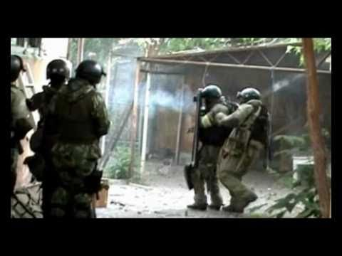 War in Dagestan.Russian Spetsnaz in action [MIX 18+] part1