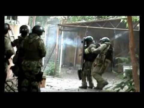 War in Dagestan.Russian