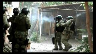 War in Dagestan.Russian Spetsnaz in action [MIX 18+] part1