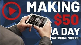 How to Make Money Watching Videos When You're BORED AF! (UP TO $50 A DAY)