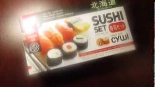 Culinary Review (Sushi set).Кулинарный обзор (набор Суши)(Overview kit with ingredients for making sushi. Обзор набора с ингредиентами для приготовления суши., 2014-02-17T20:51:00.000Z)