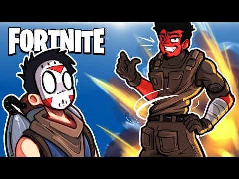 FORTNITE BR - BEST FLY EXPLOSIVES TACTICS EVER! (Golf Kart Guided Rockets) With Cartoonz!