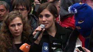 Pussy Riot unveil new anti-Putin Sochi video