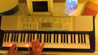 How to Play ~ The Lion Sleeps Tonight ~ Lion King Theme Song ~  Key-F ~ LetterNotePlayer ©