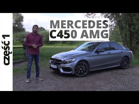 Mercedes-Benz Klasa C 450 AMG 3.0 V6 367 KM, 2016 - test AutoCentrum.pl #274